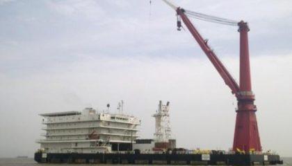 ROMAS Marine pipelay Barge