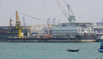 Romas Marine accommodation vessel